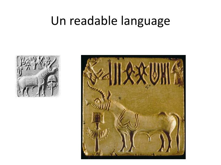 Un readable language