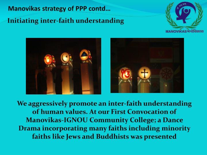 Initiating inter-faith understanding