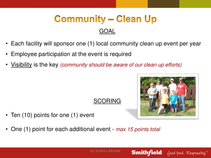 Community – Clean Up