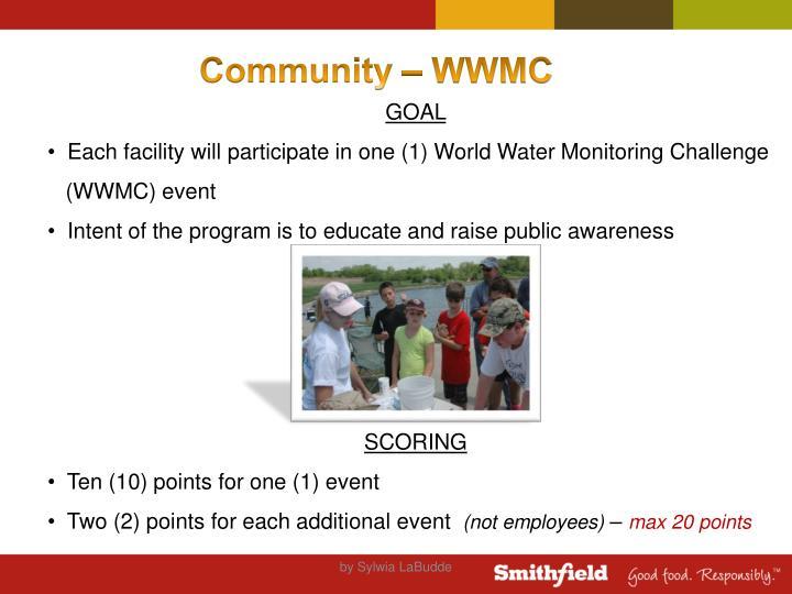 Community – WWMC