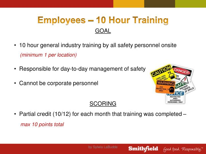 Employees – 10 Hour Training