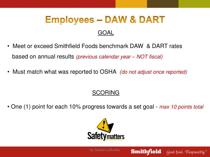 Employees – DAW & DART