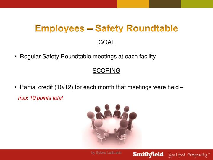 Employees – Safety Roundtable