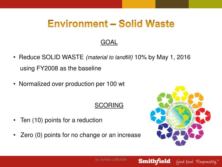 Environment – Solid Waste