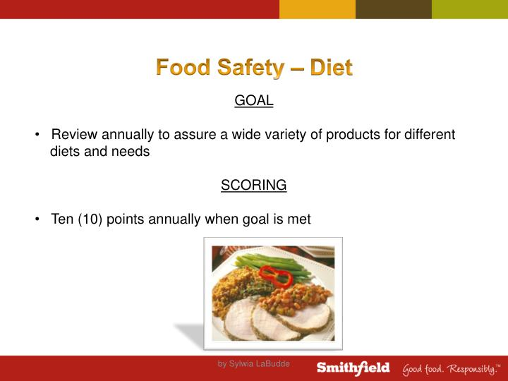 Food Safety – Diet