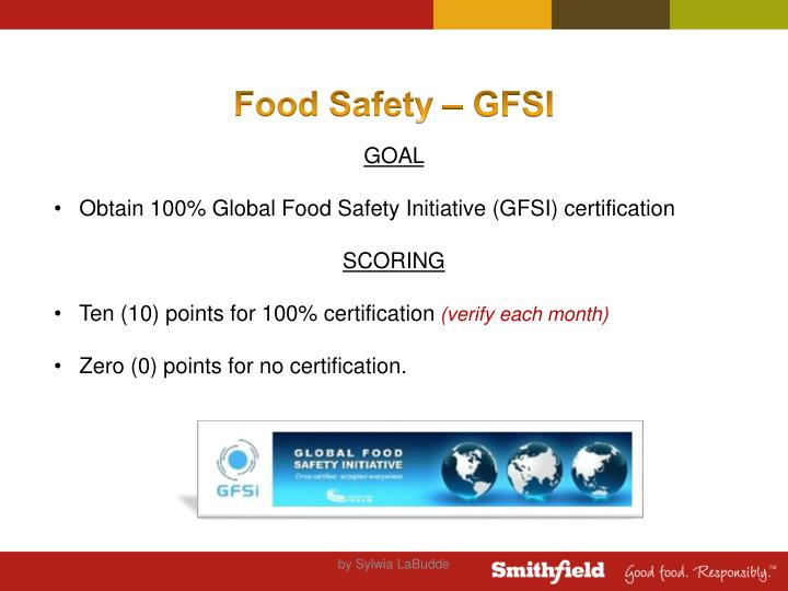 Food Safety – GFSI