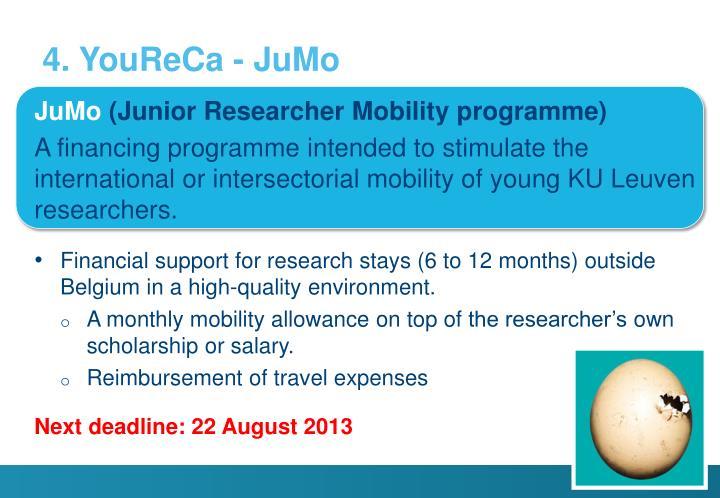 4. YouReCa - JuMo