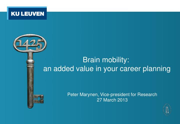 brain mobility an added value in your career planning