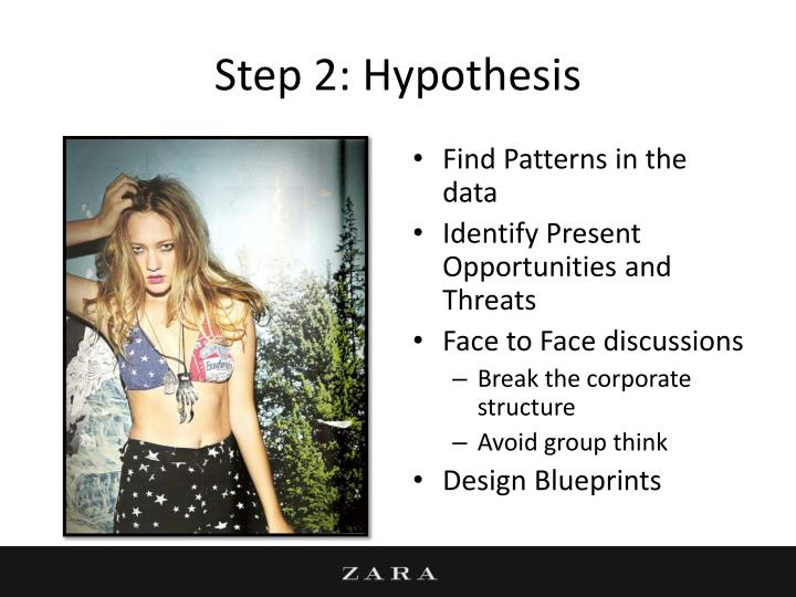 Step 2: Hypothesis