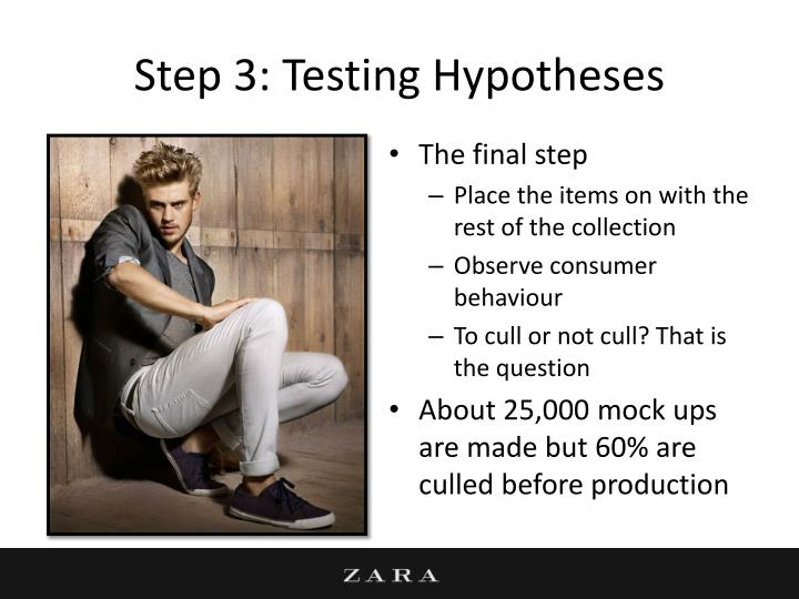 Step 3: Testing Hypotheses