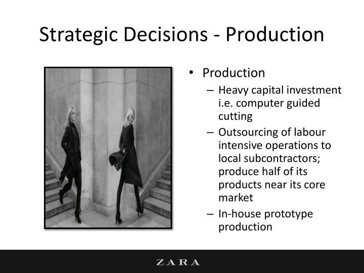 Strategic Decisions - Production