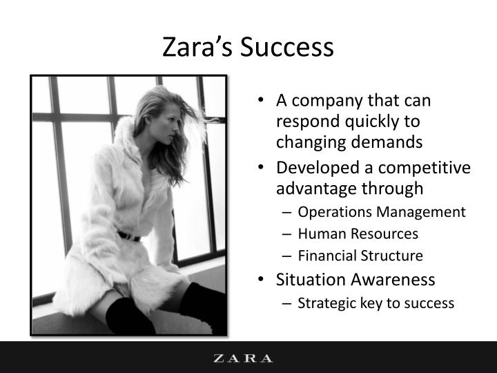 Zara's Success