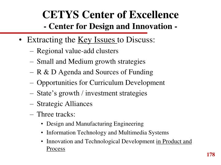 CETYS Center of Excellence