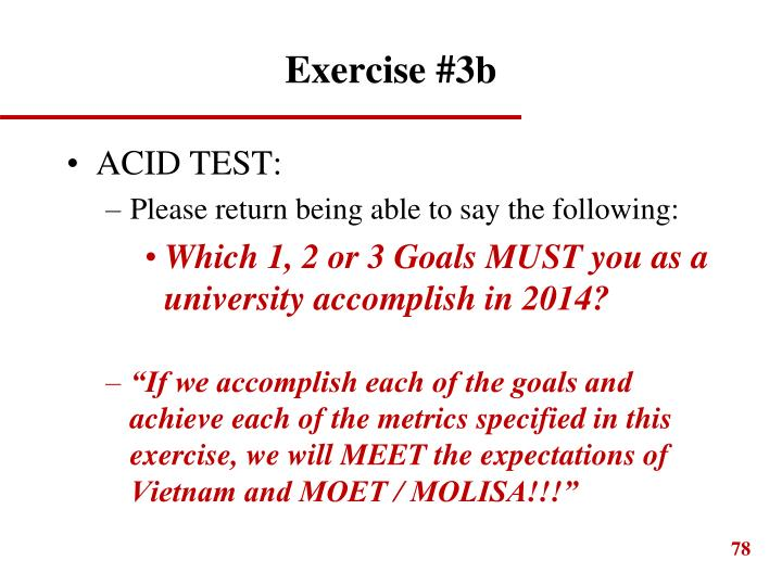 Exercise #3b