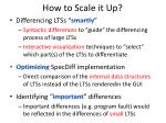 how to scale it up
