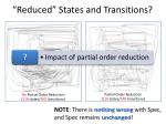 reduced states and transitions