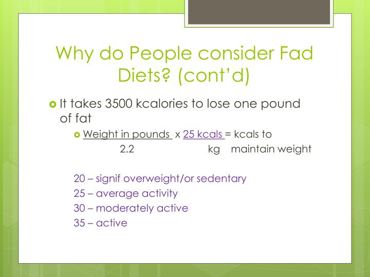 Why Fad Diets Are Bad and How to Avoid Them