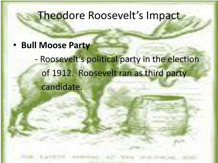 Theodore Roosevelt's Impact