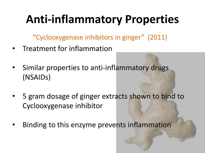 Anti-inflammatory Properties