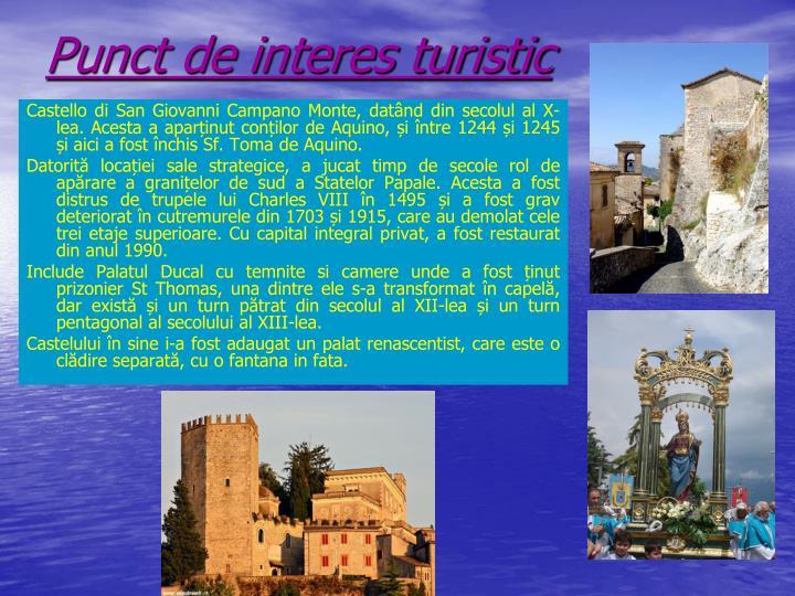 Punct de interes turistic