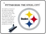 pittsburgh the steel city