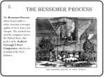 the bessemer process