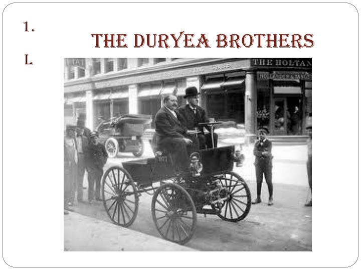 The Duryea Brothers