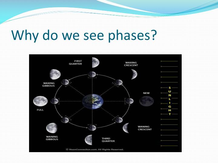 Why do we see phases?