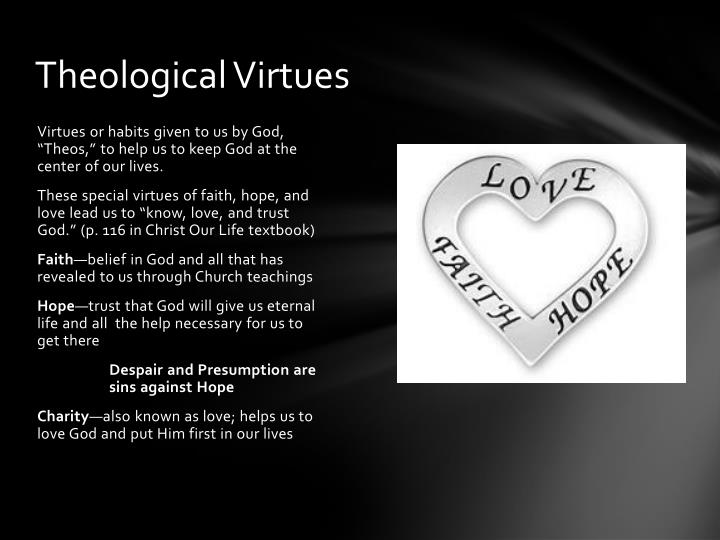Theological Virtues