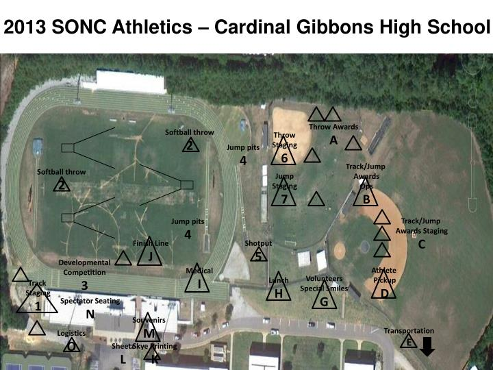 2013 SONC Athletics – Cardinal Gibbons High School