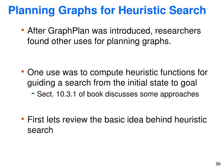 Planning Graphs for Heuristic Search