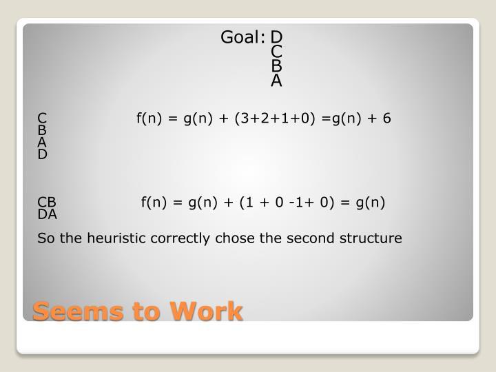 Goal:D