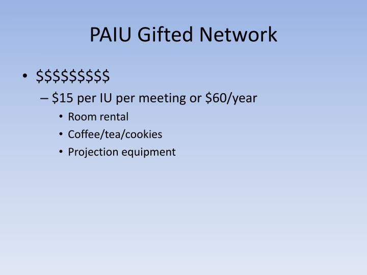 PAIU Gifted Network