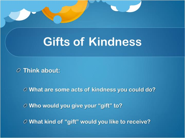 Gifts of Kindness