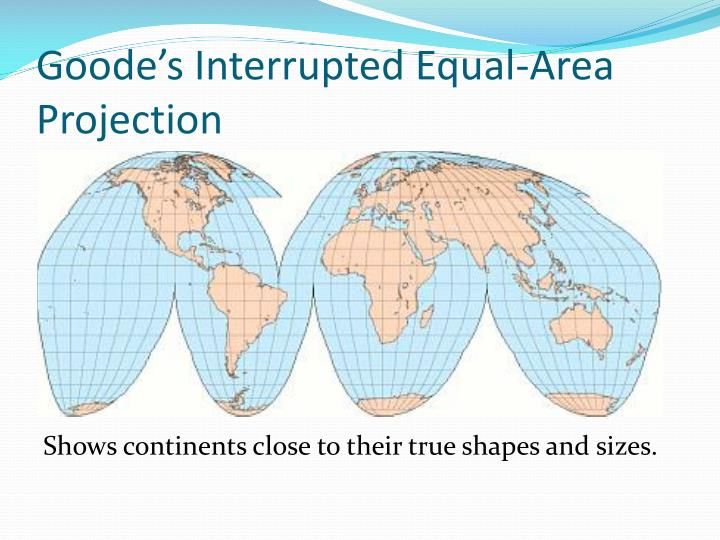 Goode's Interrupted Equal-Area Projection
