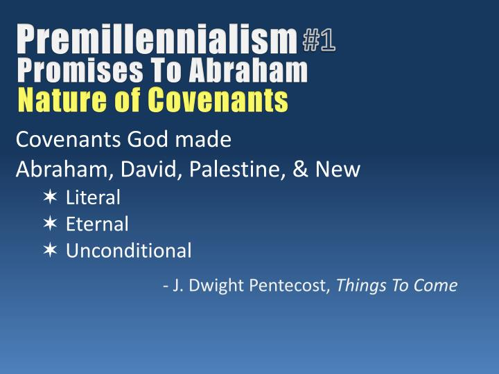 Premillennialism
