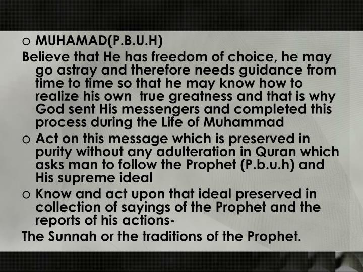 MUHAMAD(P.B.U.H)
