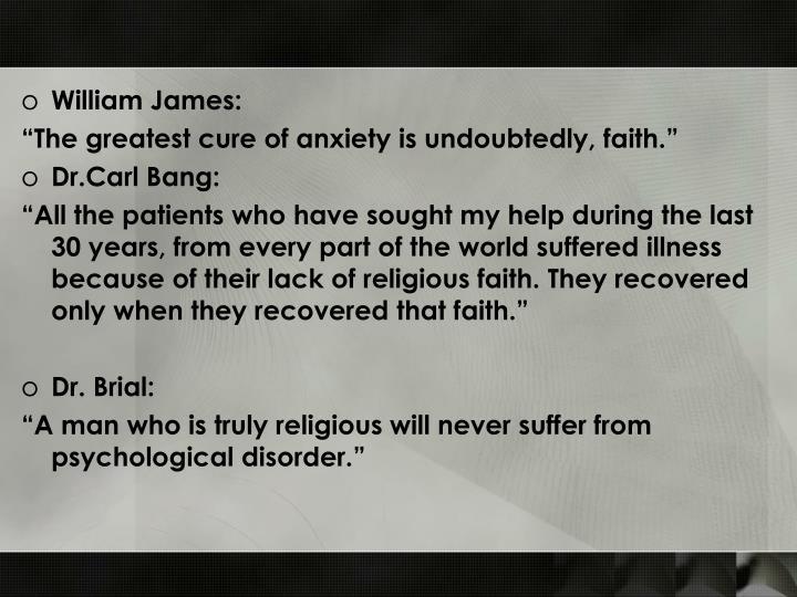 William James: