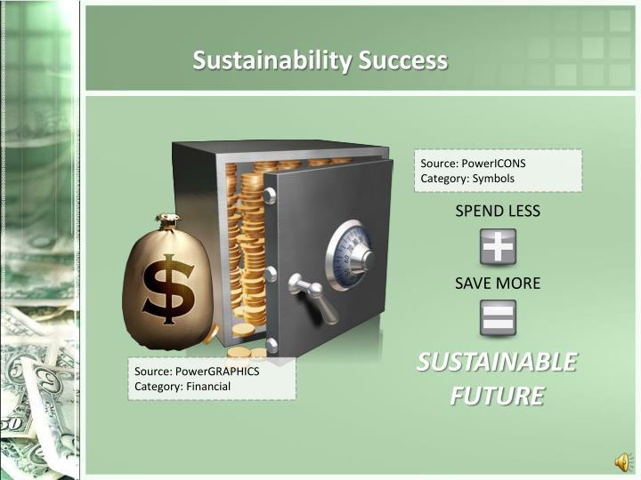 Sustainability Success