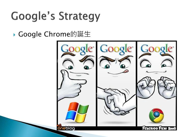 Google's Strategy