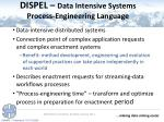 dispel data intensive systems process engineering language