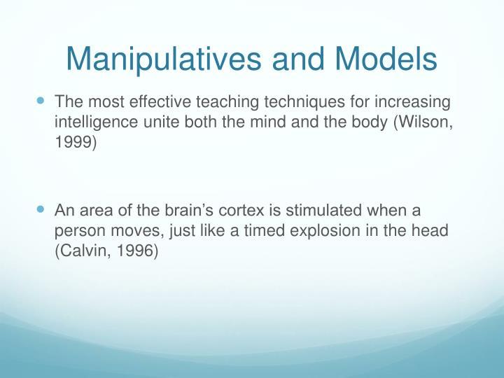 Manipulatives