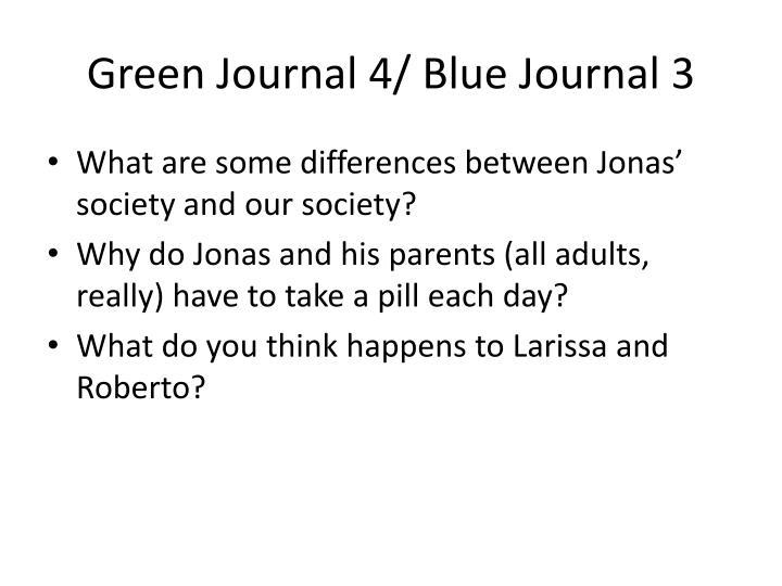 Green Journal 4/