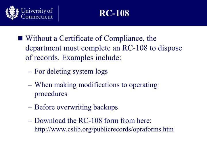 RC-108