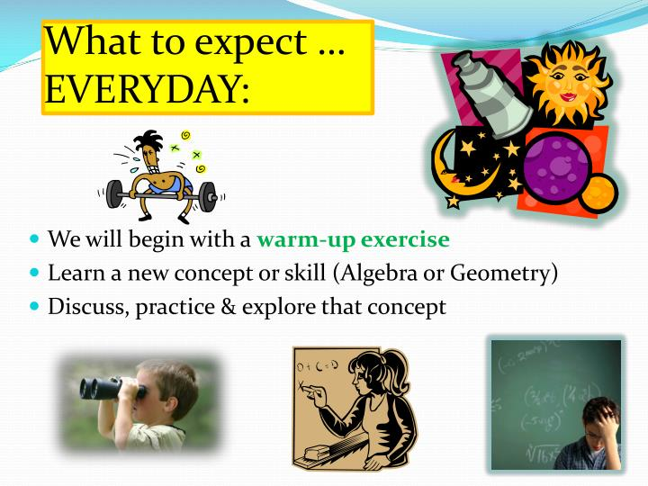 what to expect everyday