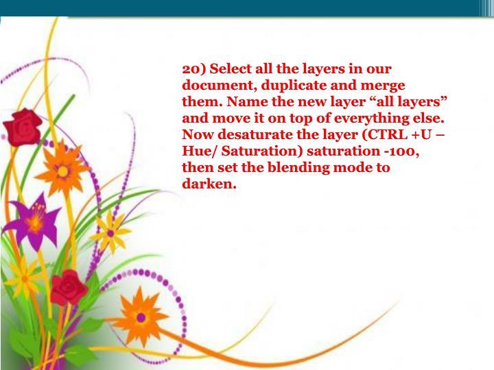 20) Select