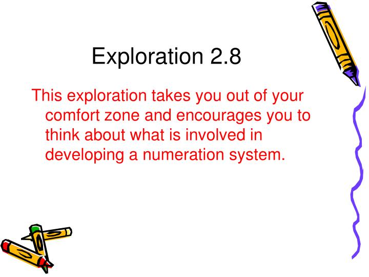 Exploration 2.8