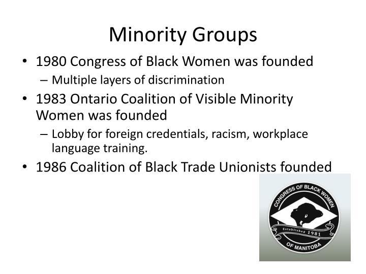 Minority Groups