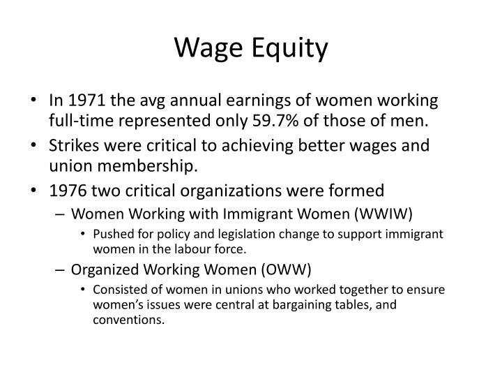 Wage Equity