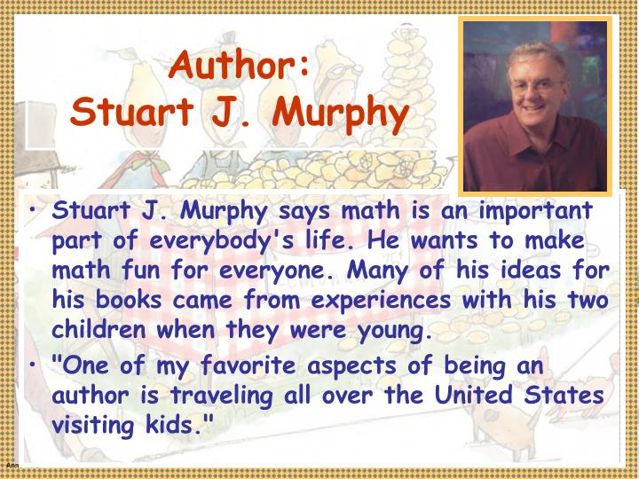 Author stuart j murphy